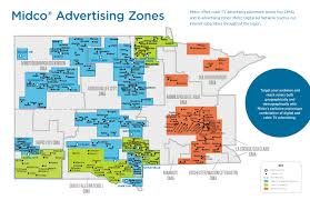 Sioux Falls Zip Code Map by Political Advertising Midco