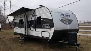 2017 puma xle 25fbc travel trailer toy hauler camp out rv in