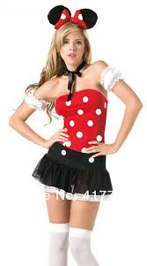 Minnie Mouse Womens Halloween Costume Cheap Halloween Costumes Women Minnie Aliexpress