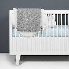 olli lime black and white crib bedding modern baby bedding