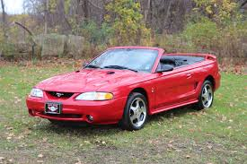 1997 ford mustang convertible ford