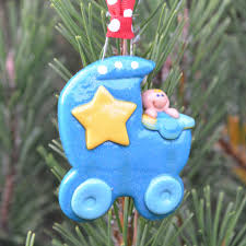 baby star personalized christmas ornament tis the season