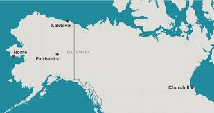 Map Of Alaska Towns by The Bounty Of The Bone Pile Hakai Magazine