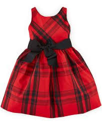 ralph lauren baby girls u0027 cotton sateen fit and flare dress kids