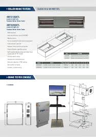class 7 mot bay dimensions mot atl equipment genral brochure