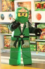 Kids Lego Halloween Costume Lego Ninjago Homemade Halloween Costume
