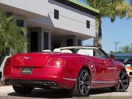 red bentley convertible 2013 bentley continental gt gtc