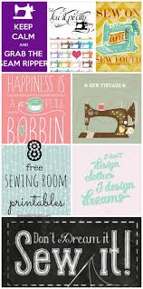 Sewing Room Decor 8 Free Sewing Room Printables For Wall Decor Swoodson Says