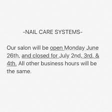 nail care systems home facebook