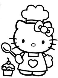kitty coloring pages print fun color