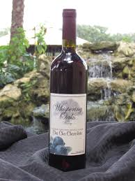 chocolate wine cha cha chocolate whispering oaks winery