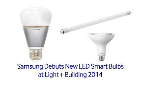 samsung debuts new led smart bulbs at light building 2014