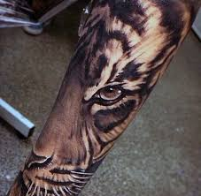 image result for tiger tattoos piercings