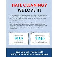 free house cleaning flyer templates sample business flyer hatch urbanskript co