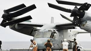 the us marines hybrid transformer helicopter plane in action v