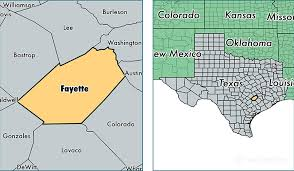 fayette county maps fayette county map of fayette county tx where is