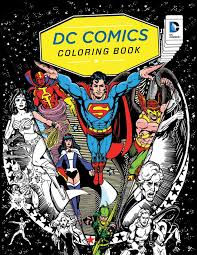 amazon com dc comics coloring book 9781608878291 insight