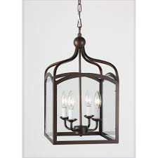 Bolton Lantern Pottery Barn by Ashley Antique Copper 4 Light Foyer Hanging Lantern Overstock