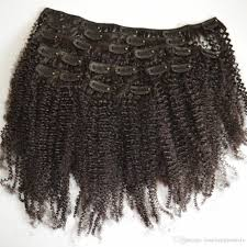 clip on extensions cheap afro curly clip in human hair extensions mongolian
