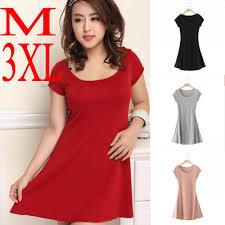summer 2014 multicolor short sleeve cotton plus size casual dress