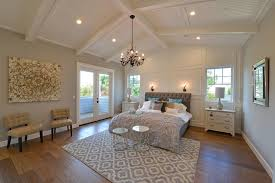 Crown Molding Vaulted Ceiling by Traditional Master Bedroom With Cathedral Ceiling U0026 Chandelier In