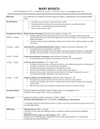 Resume Work Experience Sample by Examples Of Job History On Resume Augustais