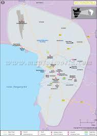 Map Of Bora Bora Bujumbura Map Map Of Bujumbura City Burundi