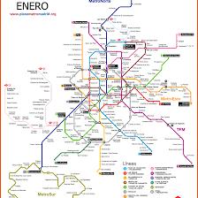 Metro La Map Metro Madrid Map Madrid Metro Map Updated Plano Metro Madrid