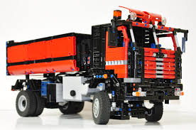 lego technic truck 4x4 tipper truck lego technic mindstorms u0026 model team