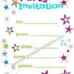 kids birthday party invitations templates free printable 30 kids