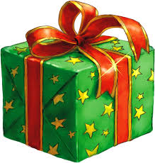 free illustration present gift wrapped green free image on