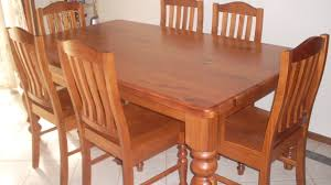 used dining room sets used dining room tables strikingly beautiful table all