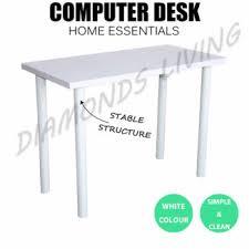 Gumtree Desk Melbourne Brand New H Style Desk With Shelf Black White Desks Gumtree