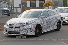 1998 Honda Civic Type R Specs Spied 2017 Honda Civic Type R Sedan Tests On The U0027ring
