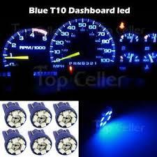 6x Blue T10 Wedge Gauge Cluster Instrumental Speedometer Led Light