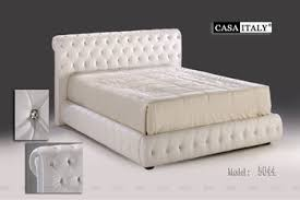 casa italy bed frame 5044 bedroom set upholstery bed modern bed