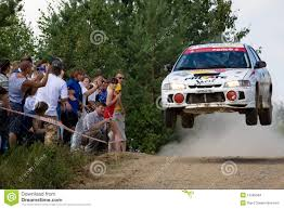 subaru rally jump rally car jumping editorial photography image of drifting 24050352