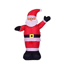 Outdoor Christmas Blow Up Decorations Clearance by Christmas Inflatables Amazon Com