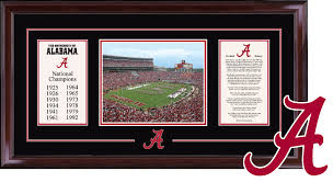 of alabama diploma frame college sports frames church hill classics