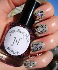 possibly polished indie review noodles nail polish