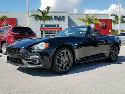 fiat spider white new 2017 fiat 124 spider abarth for sale in miami fl near north
