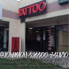 evolution tattoo studio 7475 west military drive san antonio