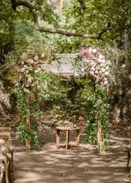 wedding arches made of tree branches a rustic c themed outdoor wedding inside weddings