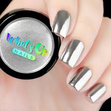 whats up nails chrome powder whats up nails