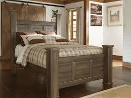 ashley king bedroom sets ashley b251 juararo 6 pc poster king bedroom set