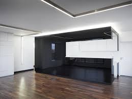 cuisine monobloc cuisine noir et blanc 10 réalisations inspirantes