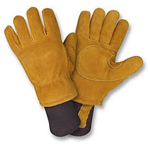Split Cowhide Cordova Leather Palms Side Split Cowhide Leather Gloves