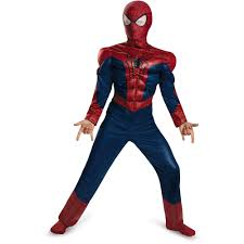 patriotic halloween costumes spider man muscle child halloween costume walmart com