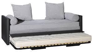 canapé convertible une personne canap lit une personne avec canape convertible gain de place finest
