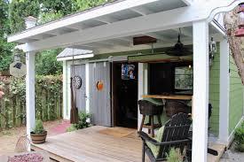 where we live backyard u0027pub shed u0027 celebrates all things